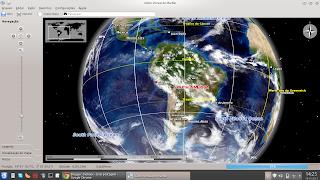 Marble no Linux Mint 13 KDE