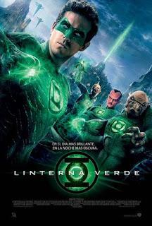 Linterna Verde (Green Lantern) Poster