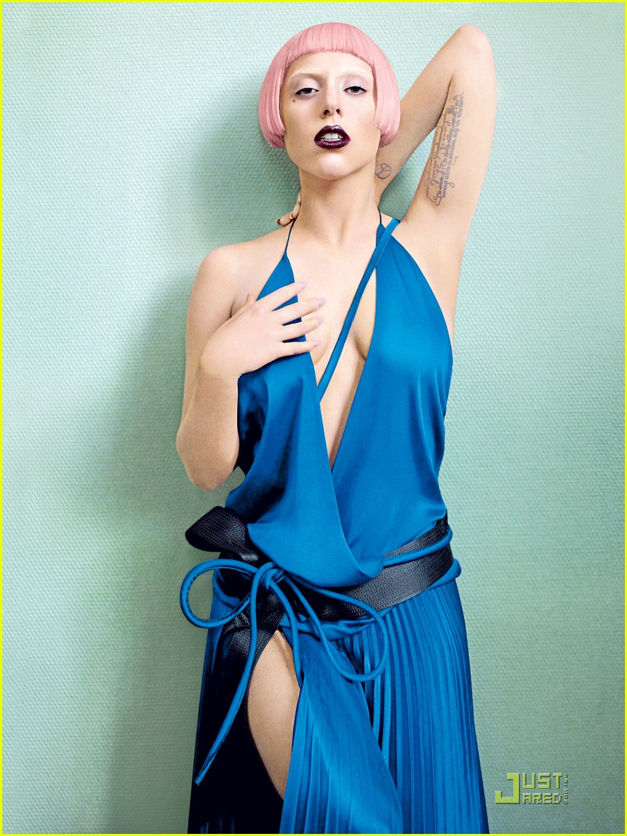 Lady gaga Italy Vanity Fair Pictures