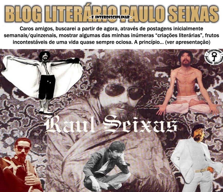 BLOG LITERÁRIO PAULO SEIXAS