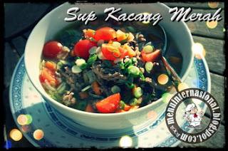 Cara Membuat Sup Kacang Merah Istimewa Nikmat dan Kaya Nutrisi