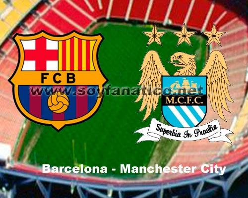 Barcelona vs Manchester City Champions 2014