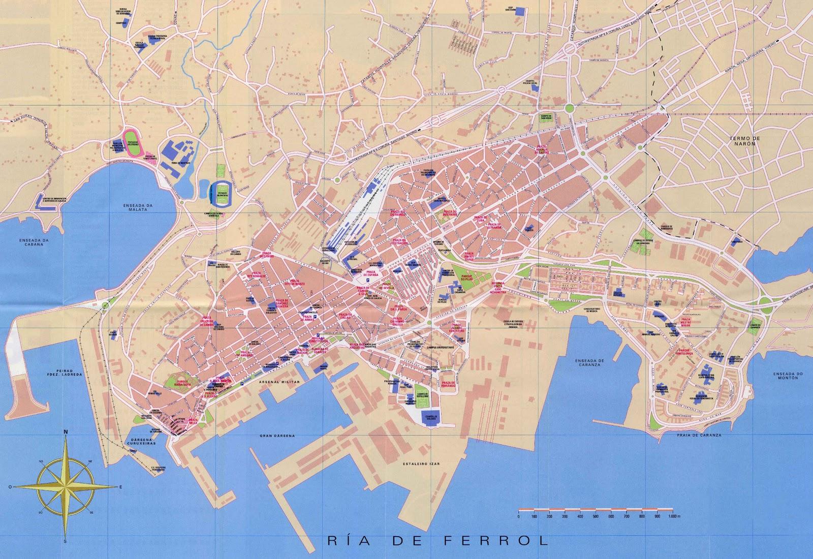 Ferrol No S Lo Sol Y Playa Informaci N