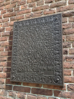 Revolutionary War Plaque on University Hall