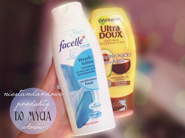 Niestandardowe produkty do mycia włosów czyli co zamiast szamponu