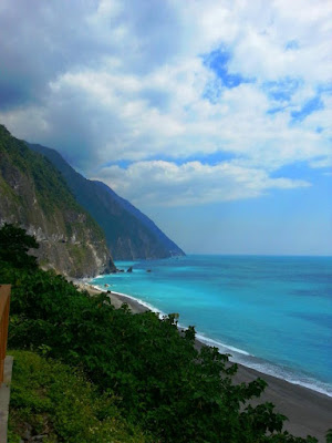 Awesome Scenic View of Qingshui Cliff