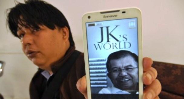 JK Luncurkan Biografi Digital