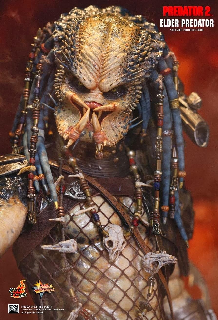 Onesixthscalepictures Hot Toys Predator 2 Elder Predator