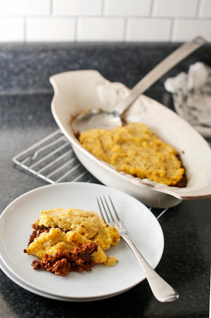 Shepherdess Pie (Vegan) from The Adventurous Vegetarian by Jane Hughes