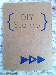 custom diy stamp