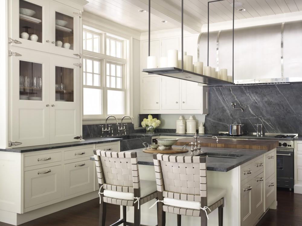 The Granite Gurus 5 Kitchens with Slab Full Height Backsplash