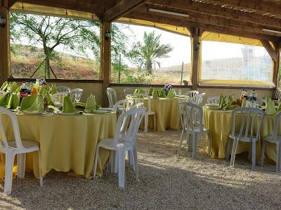 חן במדבר חצר אירועים