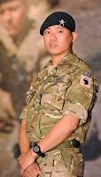 Dip Prasad Pun of Nepal receives Gallantry Cross