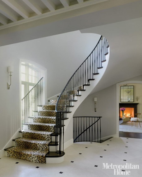 Delightful If I Were To Add A Stair Runner To My House, Iu0027d Want It To Be An Animal  Print: