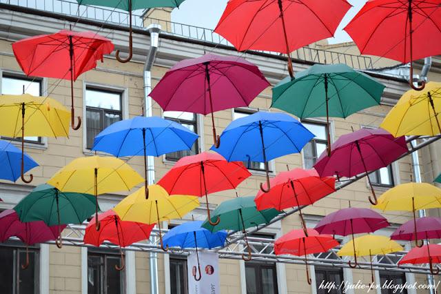 Санкт-Петербург, зонтики, Соляной переулок
