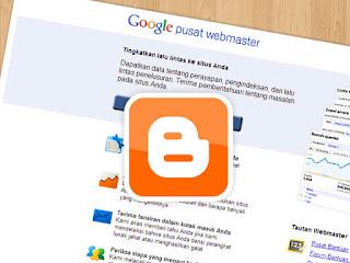 Daftar blog di google webmaster tool