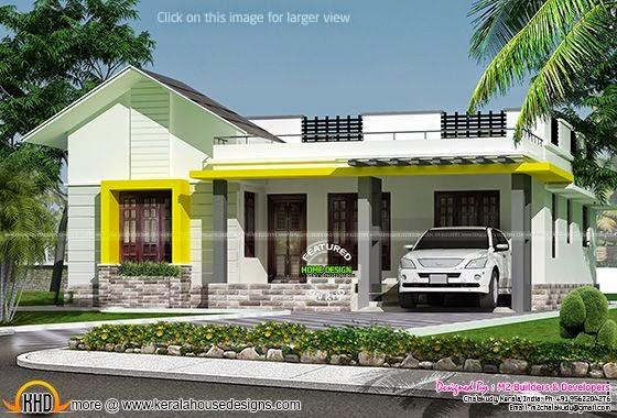 House design Chalakkudy, Kerala