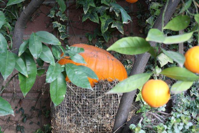 Frugal compost holder, DIY compost holder