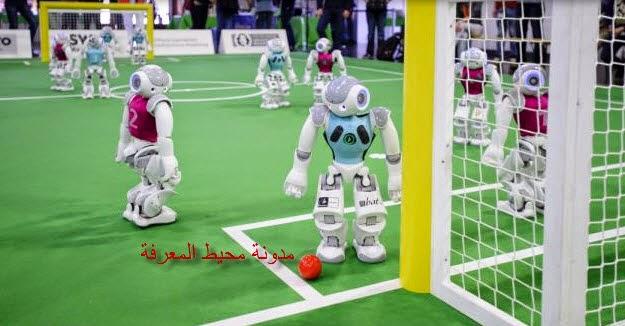 لقطات من مباراة لكرة القدم الرقمية