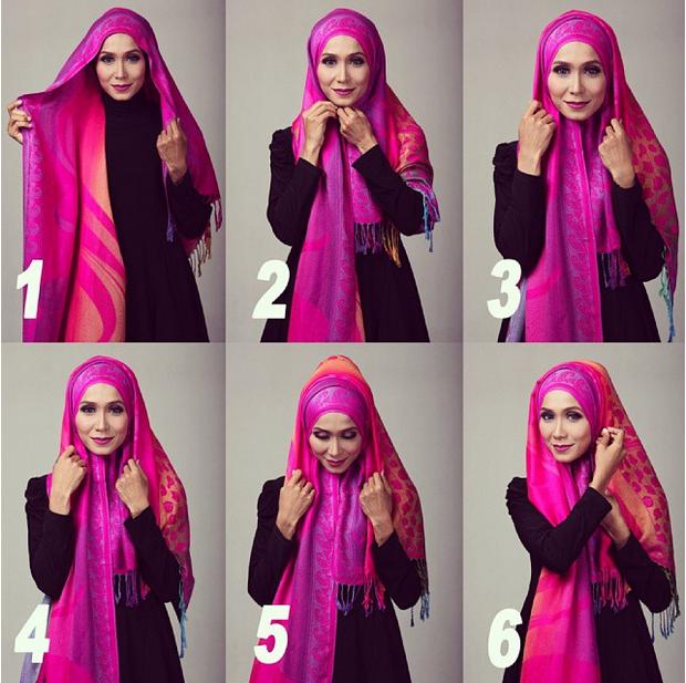 Cara Memakai Hijab Islami yang Cantik