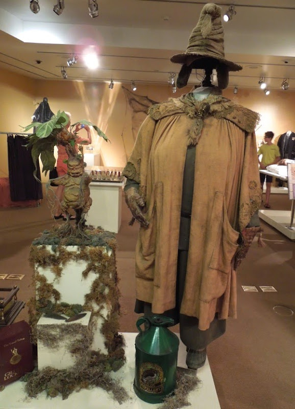 Miriam Margolyes Professor Sprout costume Harry Potter Chamber of Secrets