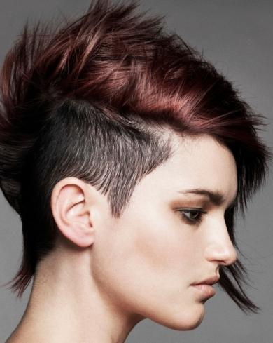 rihanna undercut hairstyle. with undercut hairstyle