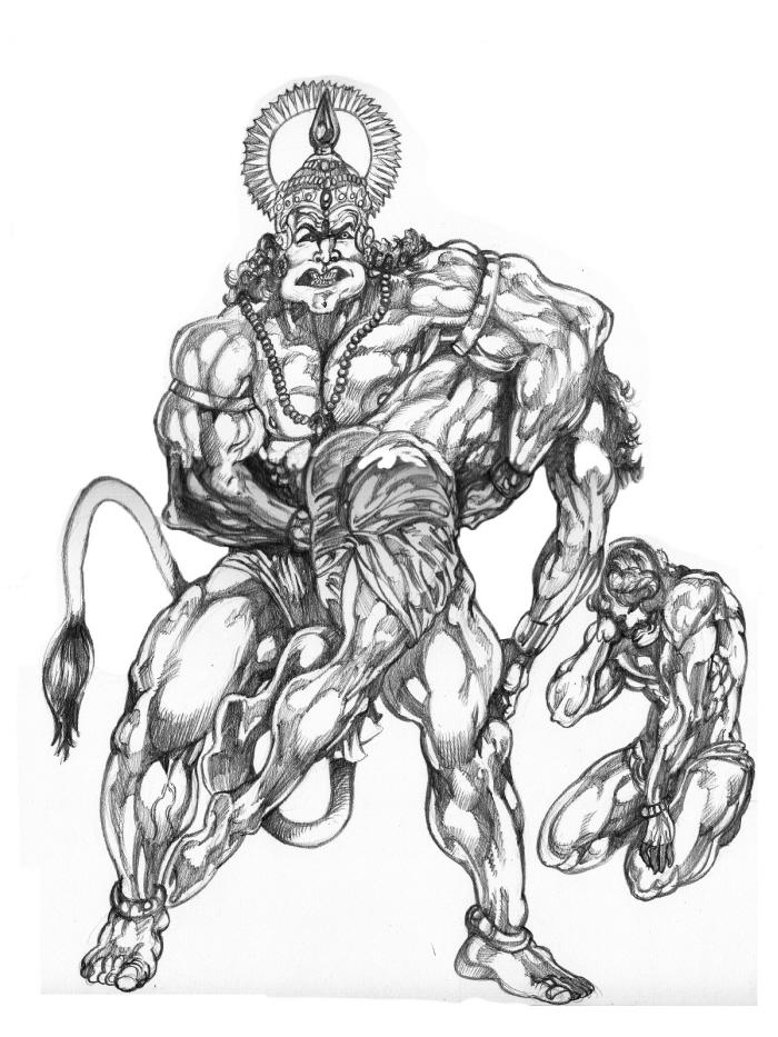 lord hanuman god hanumanji , ram bhakat hanuman sankat mochan maruti nandanshivans bajarang bali
