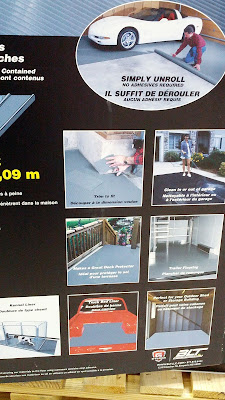 Protect your garage floors with Better Life Technology G-Floor Garage Flooring Covering