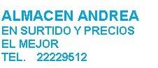 Almacén Andrea