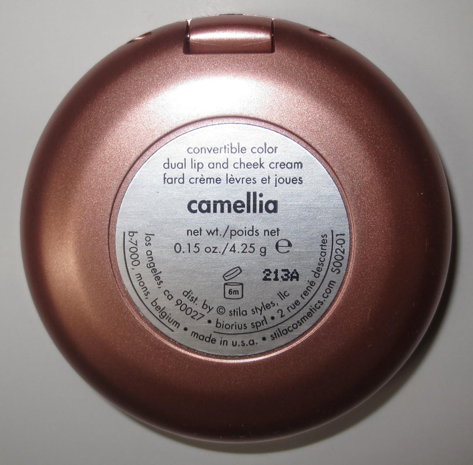 Stila Convertible Color in Camellia Label