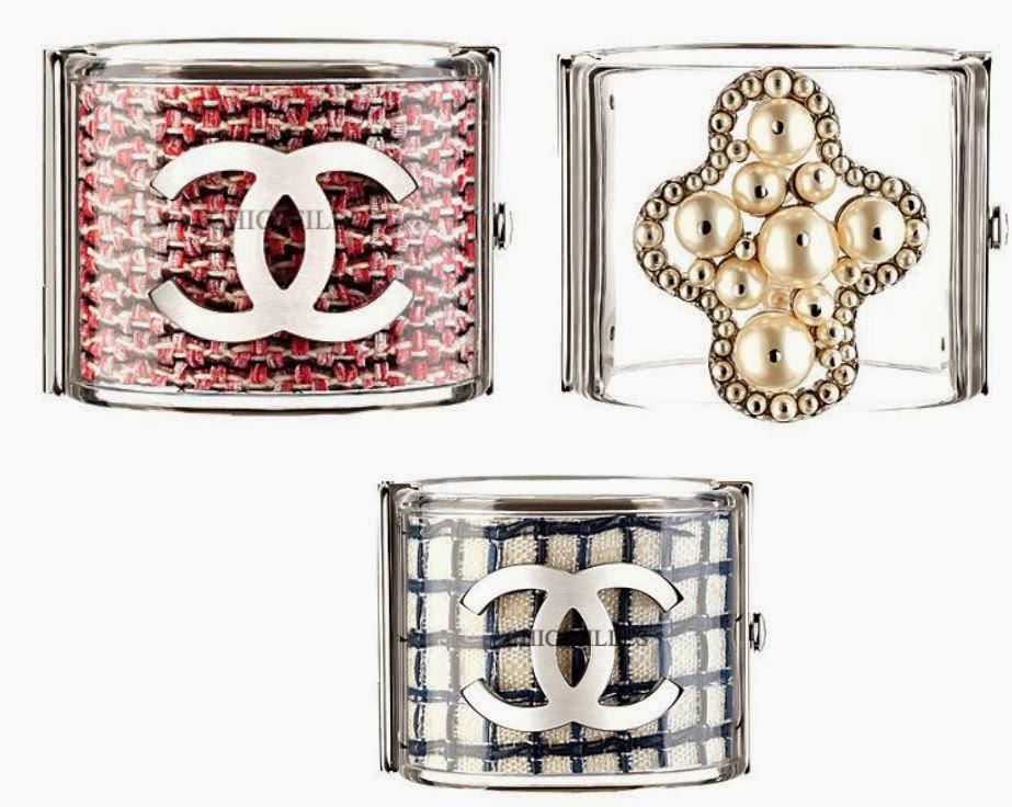 جديد اتجاهات الموضة واكسسوارات ومجوهرات Chanel 2014