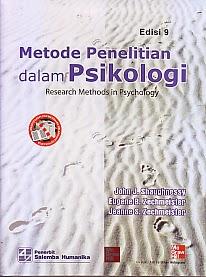 toko buku rahma: buku METODE PENELITIAN DALAM PSIKOLOGI, pengarang john j. shaughnessy, penerbit salemba humanika