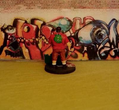 Hasslefree, Gruff, HFA069, survivor, zombie, painted, Zombicide, alternative