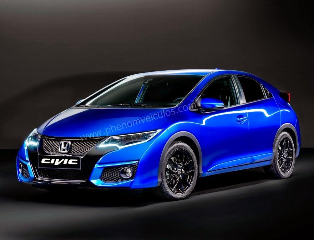 Revelação: Honda divulga o Novo Civic Sport 2014!