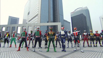 Let's Go KAMEN RIDERS Subbed