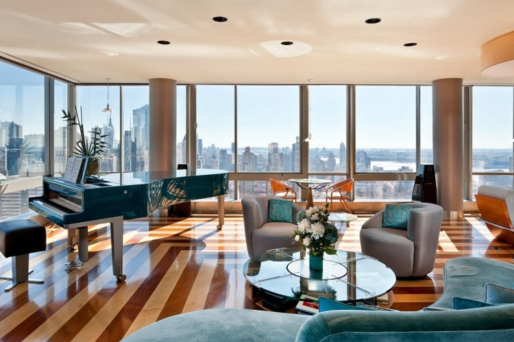 New york city luxury manhattan penthouses the gartner for Apartments in tribeca nyc