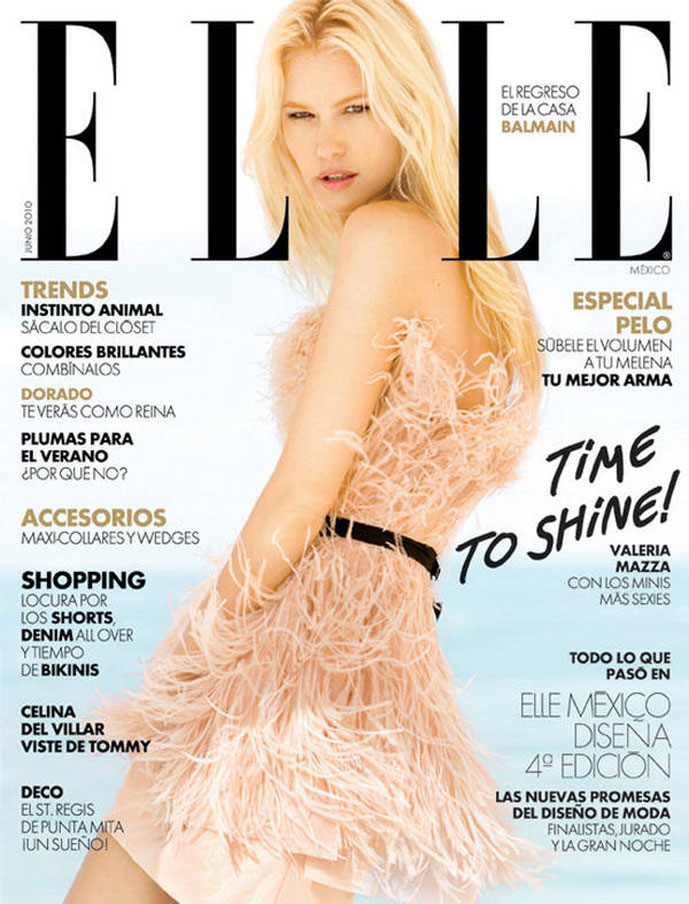 Elle Mexico June 2010