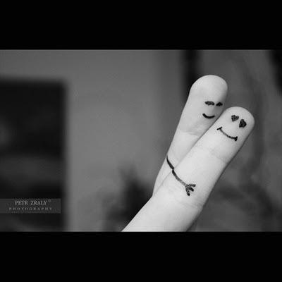 sepasang jari
