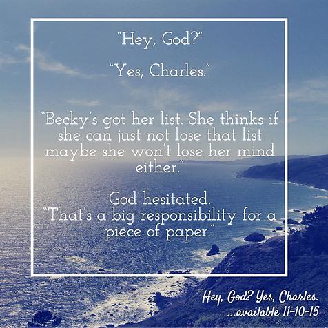 Hey, God?