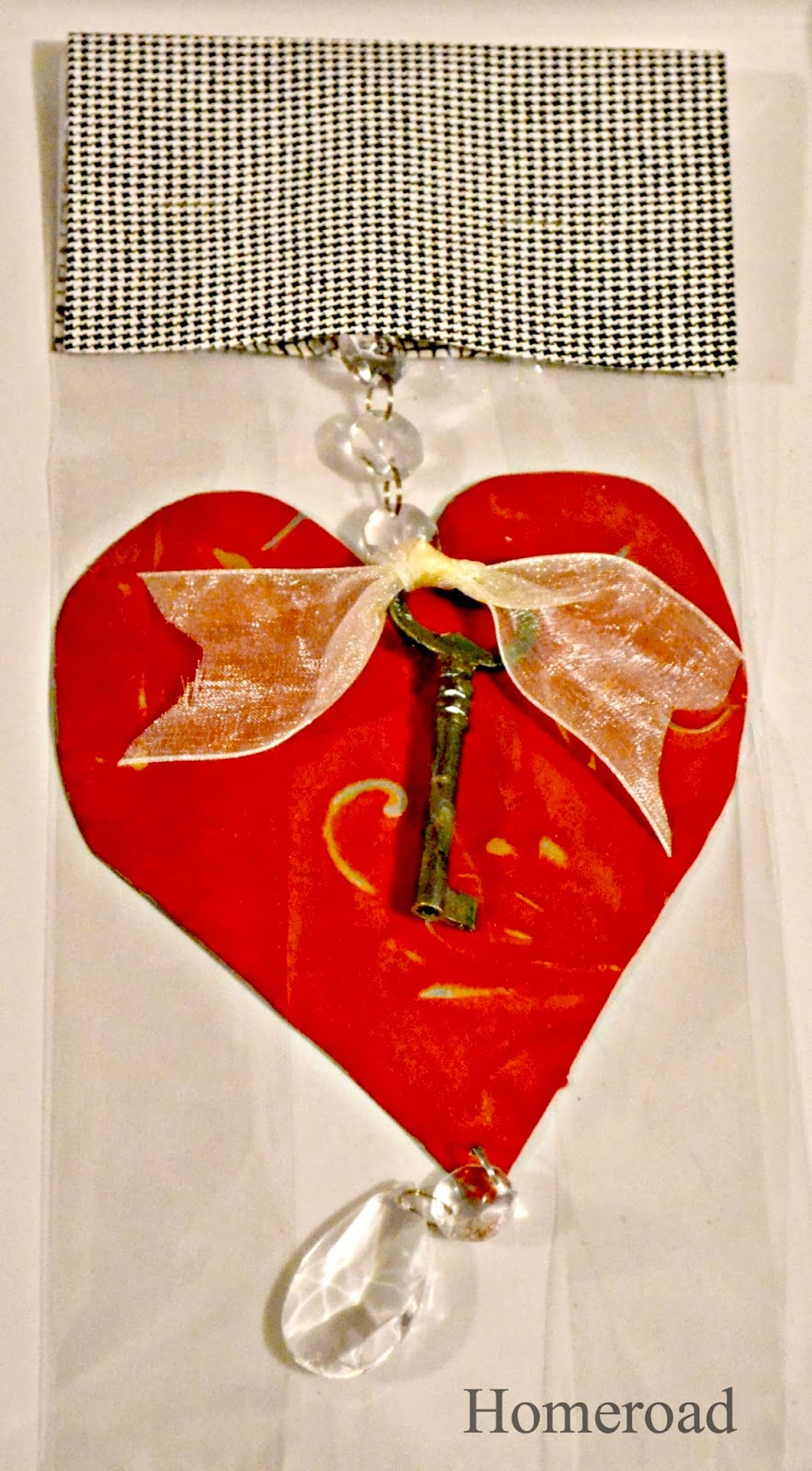 tin Valentine's day heart gifts www.homeroad.net