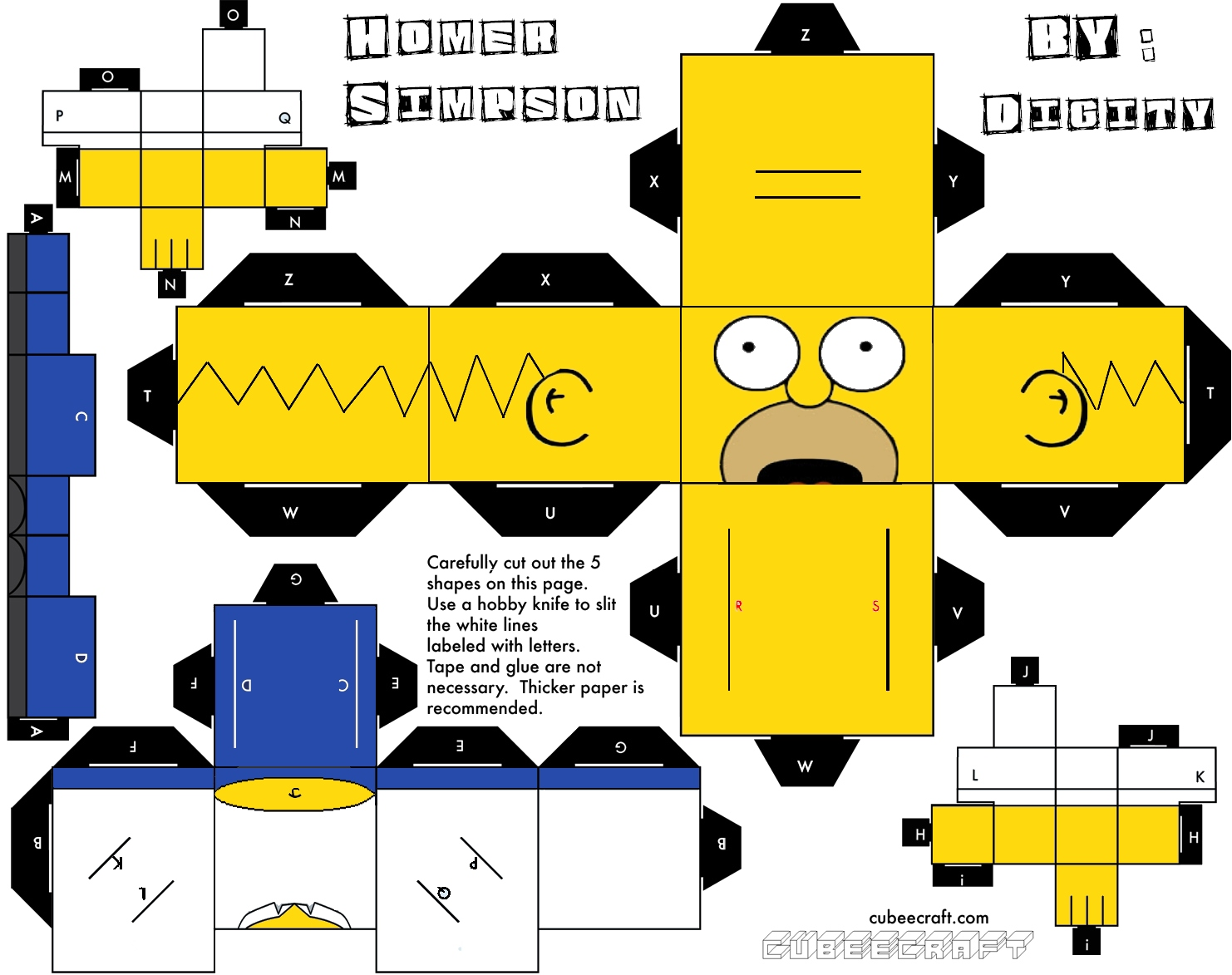 homer the simpson papercraft a few of my posts about papercraft the