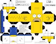 Homer The SimpsonPaperCraft