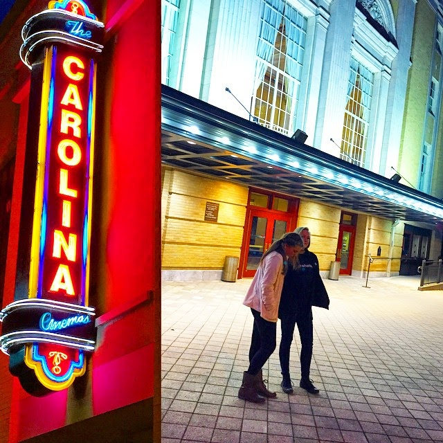 Carolina Theatre in Durham, N.C. An historic landmark