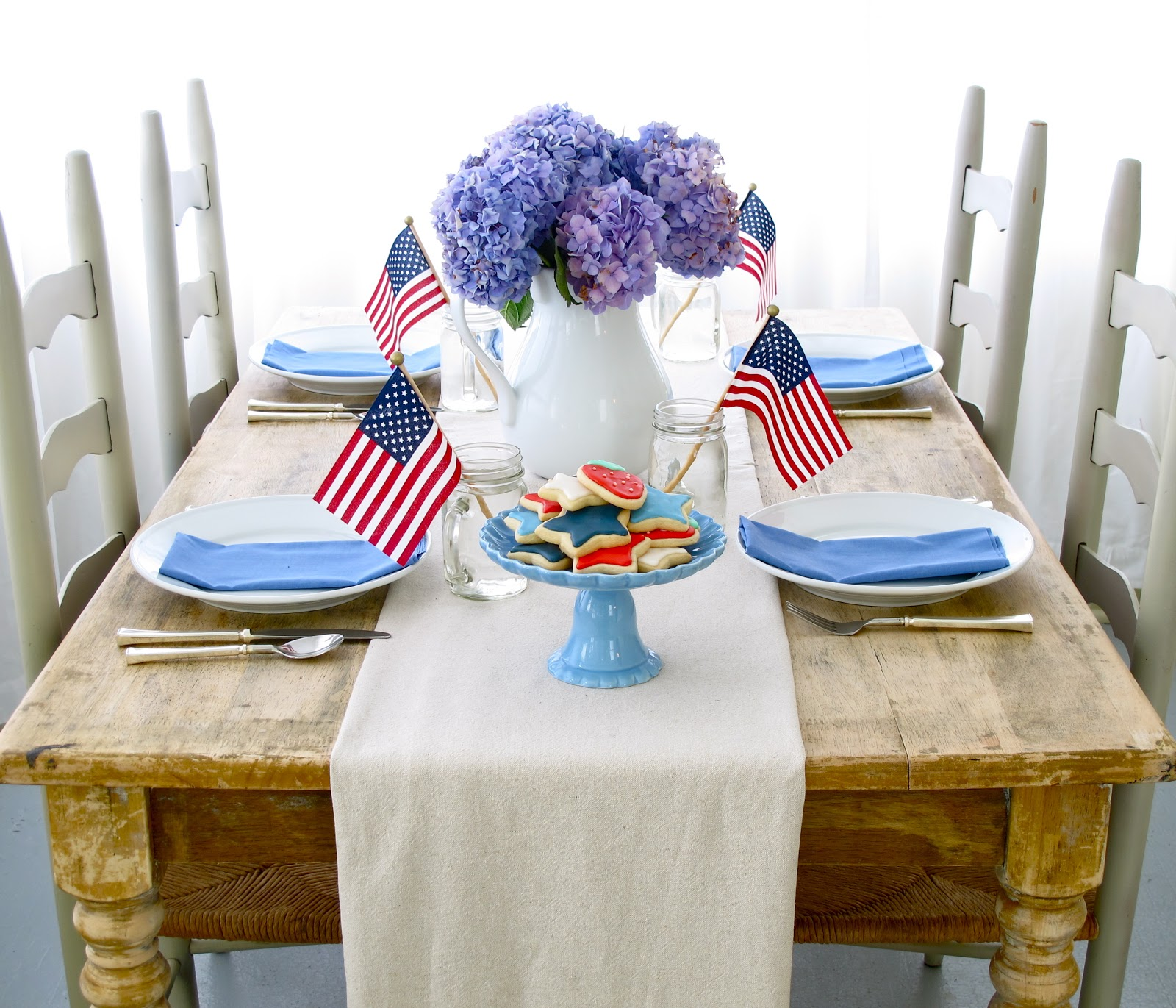 Jenny Steffens Hobick Fourth Of July Party Decorations