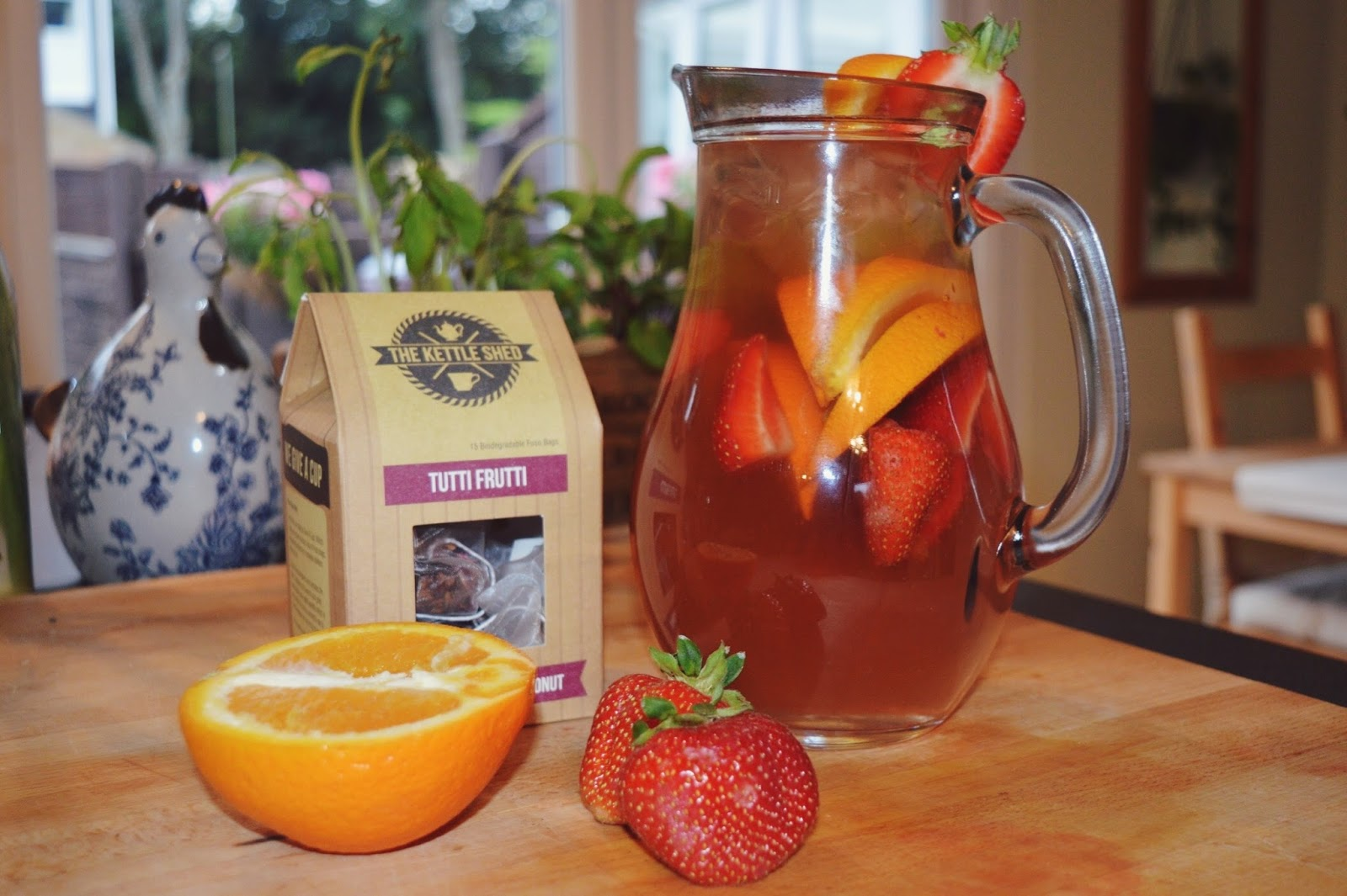 Ice tea recipe, Tutti Frutti tea The Kettle Shed, food bloggers, FashionFake