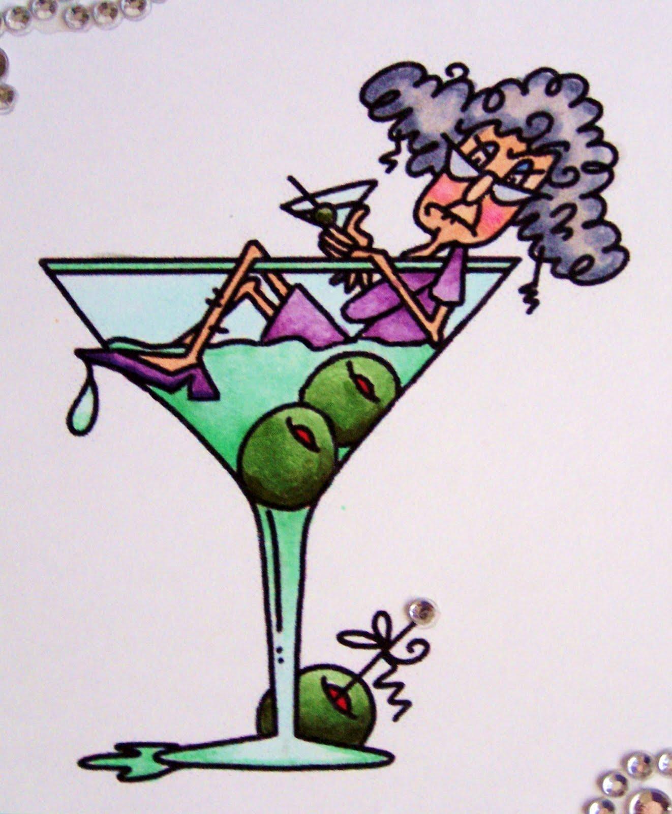 Paper In The Pines Martini Stella