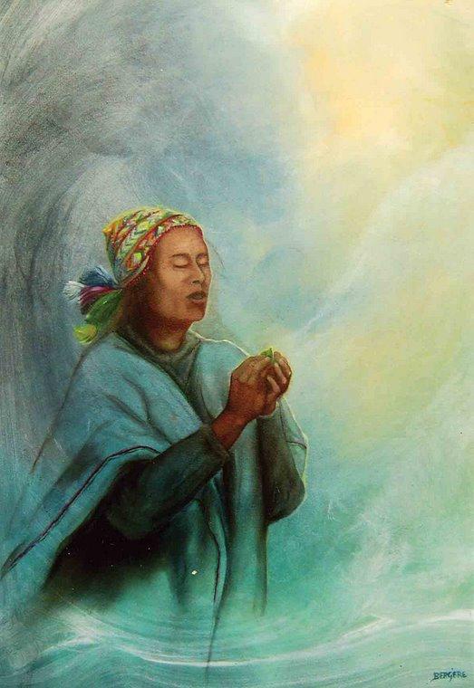 ...devoção à Pachamama