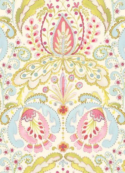 Print pattern fabrics dena designs for Dena designs tea garden