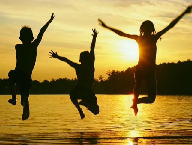 colônia de férias para o desenvolvimento infantil