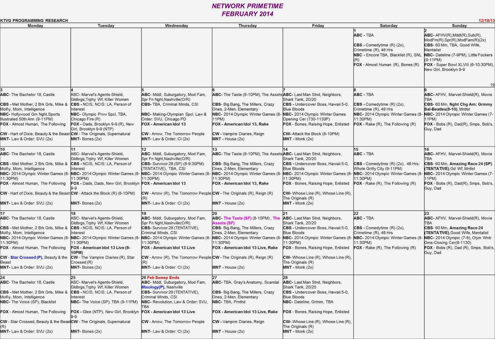 accounting schedule template